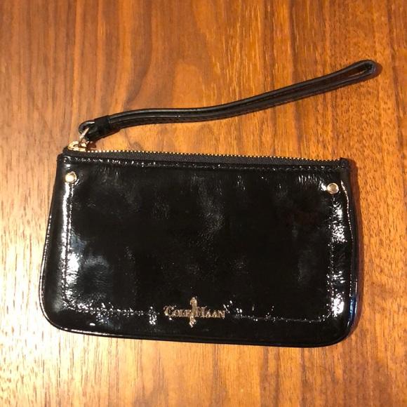 Cole Haan Handbags - Cole Haan Jitney Medium ZIP Patent Leather Pouch